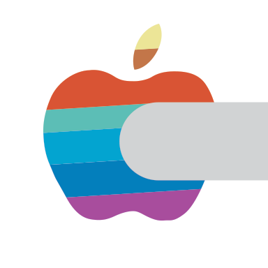 colorful apple logos. Aside From The Obvious Shape Difference, Color Arrangement Is Entirely Unique. This Because It\u0027s A One-off Job For Photo Shoot? Colorful Apple Logos
