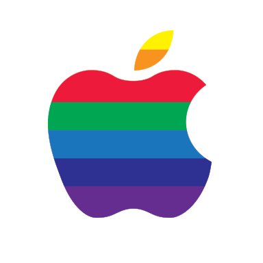 official apple logo png. it\u0027s like we got beamed into some alternate reality where apple was run by guy named rick, disco never died and official logo png